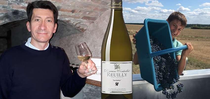 Winzer Pascal mit seinem Lieblingswein